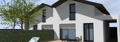 Création de 2 maisons mitoyennes -Labenne-