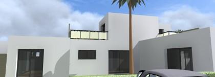 Création de 3 maisons mitoyennes pour la location -Bidart-